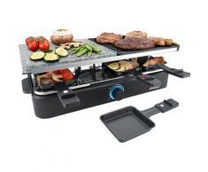 Steba Raclette RC 18, 8 Raclettepfännchen, 1400 Watt schwarz Küchenkleingeräte Haushaltsgeräte