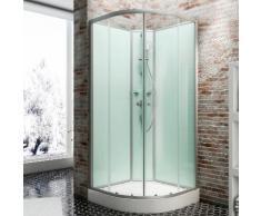 Schulte Komplettdusche Kreta, inklusive Armatur grün Duschkabinen Duschen Bad Sanitär