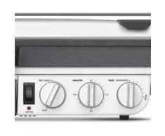 Sage Kontaktgrill the BBQ Grilll, SGR800, 2400 Watt silberfarben Elektrogrills Grill Haushaltsgeräte
