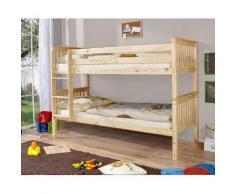 Ticaa Etagenbett Sammy beige Kinder Hochbetten Kinderbetten Betten