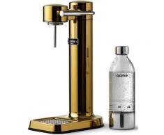 Aarke Wassersprudler Carbonator 3, (Set, 3 tlg., PET-Flasche, Reinigungstuch) goldfarben Küchenkleingeräte SOFORT LIEFERBARE Haushaltsgeräte