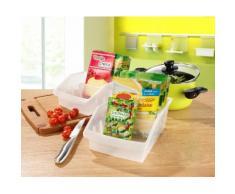 Ruco Organizer (Set, 5 Stück) farblos Küchen-Ordnungshelfer Küchenhelfer Küche Aufbewahrungsboxen