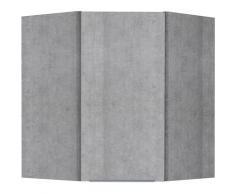 OPTIFIT Eckhängeschrank Tara grau Küchenserien Küchenmöbel Küche Ordnung