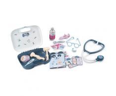 Smoby Spielzeug-Arztkoffer Baby Care, Doktorkoffer, Made in Europe grau Kinder Ab 3-5 Jahren Altersempfehlung