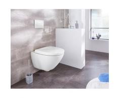 welltime Tiefspül-WC Spring weiß WC-Becken WC und WC-Zubehör Bad