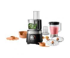 Philips Küchenmaschine HR7530/10, 31 Funktionen, 2-in-1 Schneidescheibe, Zitruspressenaufsatz schwarz Küchenmaschinen SOFORT LIEFERBARE Haushaltsgeräte