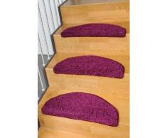Stufenmatte Shaggy Pulpo Living Line stufenförmig Höhe 22 mm, lila, lila