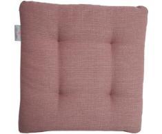 Dohle&Menk Sitzkissen Portland, in Struktur-Optik rosa Sitzwürfel Hocker
