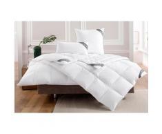 OBB Daunenbettdecke Noblesse, extrawarm, Füllung 90% Daunen, 10% Federn, Bezug 100% Baumwolle, (1 St.) weiß Allergiker Bettdecke Bettdecken Bettdecken, Kopfkissen Unterbetten