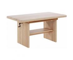 INOSIGN Couchtisch braun Couchtische eckig Tische Tisch