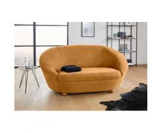LOOKS by Wolfgang Joop Sofa LooksIV, Rundsofa, in vielen frischen Farben wählbar orange Sofas und Couches Möbel mit Aufbauservice