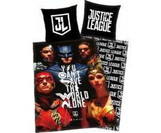 Kinderbettwäsche Justice League, bunt, bunt