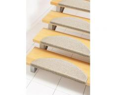 Stufenmatte Carransa Andiamo stufenförmig Höhe 10 mm maschinell getuftet, beige, Neutral, beige-creme