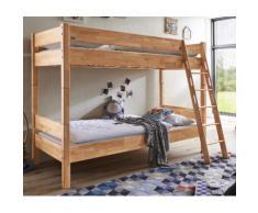 Relita Etagenbett, mit Rollrost, umbaufähig zu 2 Einzelbetten braun Kinder Kindermöbel Nachhaltige Möbel Etagenbett