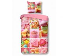 Kinderbettwäsche Sweet good morning, rosa, rosa