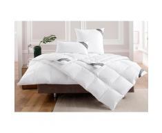 OBB Daunenbettdecke Noblesse, leicht, Füllung 90% Daunen, 10% Federn, Bezug 100% Baumwolle, (1 St.) weiß Allergiker Bettdecke Bettdecken Bettdecken, Kopfkissen Unterbetten