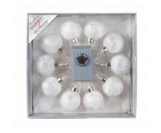 INGE-GLAS LED-Lichterkette weiß Saisonartikel Weihnachten Lichterketten und Lichtschlauch Dekoleuchten Lampen Leuchten