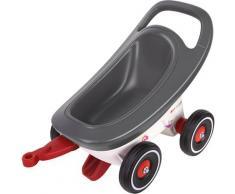 BIG Kinderfahrzeug-Anhänger Buggy 3-in-1, Made in Germany grau Kinder Ab 12 Monaten Altersempfehlung