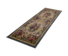 THEKO Läufer Gabiro 72, rechteckig, 12 mm Höhe, Teppich-Läufer, gewebt, Orient-Optik, Vintage Design bunt Teppichläufer Bettumrandungen Teppiche