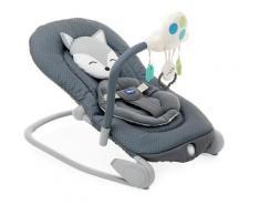 Chicco Babywippe Balloon, Foxy, bis 18 kg grau Baby Ab Geburt Altersempfehlung