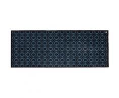 Läufer, Spirit BB, Barbara Becker, rechteckig, Höhe 10 mm, maschinell getuftet blau Küchenläufer Läufer Bettumrandungen Teppiche