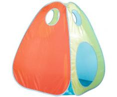 roba Spielzelt Bällebad, mit 100 Bällen bunt Kinder Spieltunnel Outdoor-Spielzeug