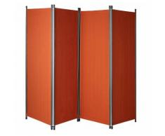 Angerer Freizeitmöbel Paravent Swingtex, (B/H): ca. 220x165 cm orange Paravents Raumteiler Wohnaccessoires