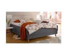 Breckle Polsterbett, ohne Kopfteil grau Polsterbetten Betten Schlafzimmer Polsterbett