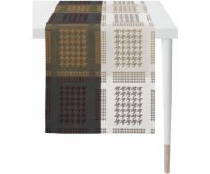 APELT Tischläufer Alexis, LOFT STYLE, Jacquard grau Tischwäsche Tischdecken