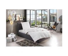 Gänsedaunenbettdecke + Kopfkissen, Kalle, RIBECO weiß Bettdecken Set Bettdecken, Kopfkissen Unterbetten Bettwaren-Sets