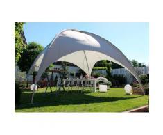 Leco Pavillon Kuppel, BxT: 500x500 cm grau Pavillons Garten Balkon