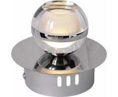 näve LED Wandstrahler Sphere, LED-Board, 1 St., Warmweiß silberfarben LED-Lampen LED-Leuchten Lampen Leuchten sofort lieferbar