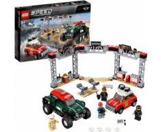 "LEGO Konstruktionsspielsteine ""Rallyeauto 1967 Mini Cooper S und Buggy 2018 Mini John Cooper Works (75894) LEGO Speed Champions"" Kunststoff (481-tlg), bunt, bunt"