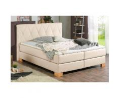Home affaire Boxspringbett Merino beige Einzelbetten Betten Komplettbetten