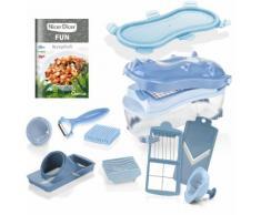 Genius Zerkleinerer Nicer Dicer Fun blau Mixer Haushaltsgeräte