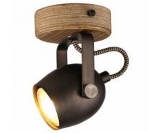 Brilliant Leuchten Tool Wandspot schwarz stahl Wandstrahler Strahler Spots Lampen Wandleuchten