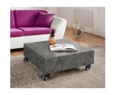 Paroli Couchtisch, grau, beton