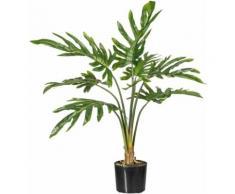 Kunstpflanze Philodendron, grün, grün
