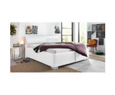 Breckle Polsterbett mit Bettkasten und Kopfteilverstellung, Neutral, 180x200 cm