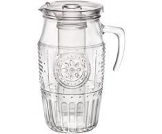 van Well Wasserkrug Romantic, mit Eiseinsatz farblos Karaffen, Krüge und Dekanter Geschirr, Porzellan Tischaccessoires Haushaltswaren