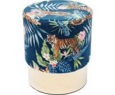 KARE Hocker Cherry Jungle Tiger, bunt, Neutral, bunt