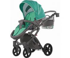 knorr-baby Kombi Kinderwagen Set, »Alive Energy, grün«, grün, Unisex, grün