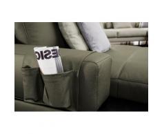 ADA trendline Polsterauflage Ruben, der Echtleder- Organizer für das Sofa grün Zubehör Polstermöbel Möbel Polsterauflagen