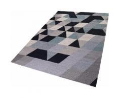 Esprit Teppich Triango Kelim, rechteckig, 5 mm Höhe, Wohnzimmer bunt Wohnzimmerteppiche Teppiche nach Räumen