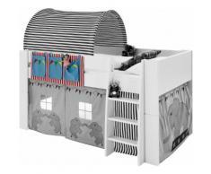 STEENS Spieltunnel FOR KIDS, für die Hochbetten bunt Sandkiste Sandspielzeug Outdoor-Spielzeug