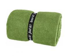 s.Oliver Wohndecke Oro, in trendigen Farben erhältlich grün Kunstfaserdecken Decken
