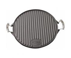 ROESLE Grillplatte (1-tlg), schwarz, schwarz