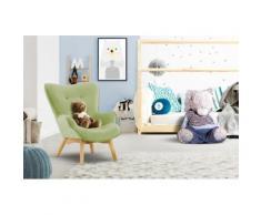 Lüttenhütt Sessel Duca Mini, in kleiner Ausführung für Kinder grün Ohrensessel und Hocker Sofas Couches