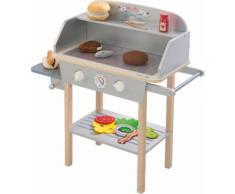 roba Kinder-Grill BBQ Grill bunt Kinder Ab 3-5 Jahren Altersempfehlung Spielzeug-Haushaltsgeräte