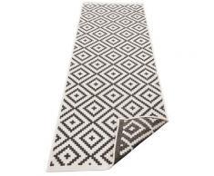 Läufer, Ronda, my home, rechteckig, Höhe 5 mm, maschinell gewebt schwarz Küchenläufer Läufer Bettumrandungen Teppiche